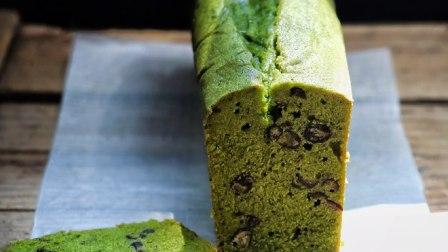 抹茶杏仁红豆磅蛋糕的做法