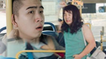 《陈翔六点半》第125集 单身痴汉乘车偶遇辣眼女神!
