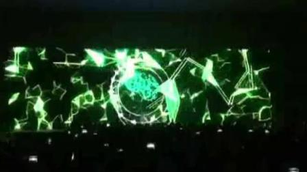 上海百世快递年会开场创意舞蹈展望未来