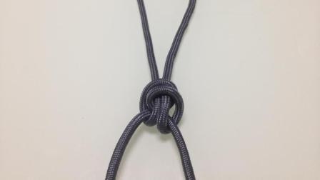 2个常用的绳结, 用来提拉东西, 非常实用的绳结方法
