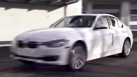 宝马汽车是怎么组装的  生产流水线好强大