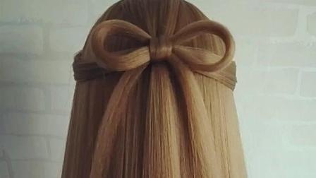 时尚编发, 短发蝴蝶结发型