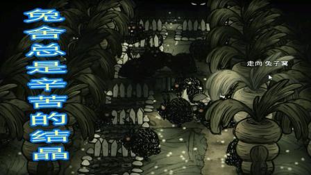 饥荒联机版官方新角色【织布工】新手教程 第23 建造兔舍农场一体还会发光
