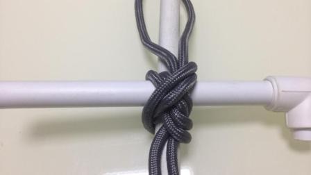三款实用绳结: 登山结, 十字横梁, 水手结, 关键的时候用得到