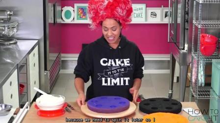 【How to cake it】如何做一个万圣节惊喜轮盘蛋糕