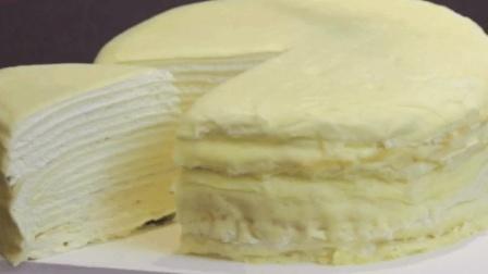 最近好火好火的千层蛋糕~做法超级简单!