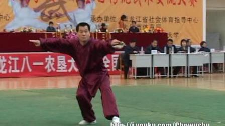 2006年全国传统武术交流大赛 男子器械 121 男子D组剑术
