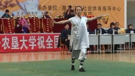 2006年全国传统武术交流大赛 男子器械 126 男子D组剑术