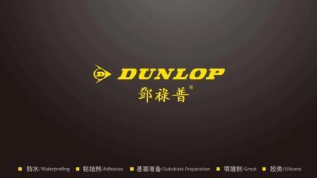 DUNLOP邓禄普升级版重砖粘结剂发布-粘结强度达C2等级