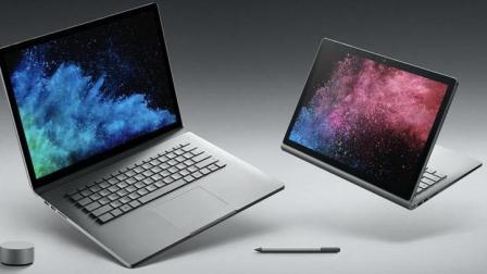 性能暴增 微软低调发布Surface Book 2代