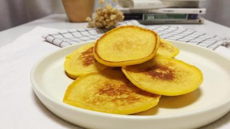 营养早餐, 奶香玉米饼的家常做法, 简单易学, 香甜松软颜值高