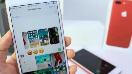 看新版iPhone8怎样在ios11下不用密码查看照片