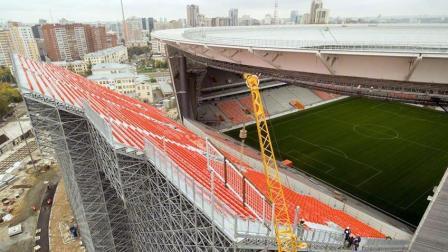 2018世界杯场馆座位太少不符合FIFA标准, 后来俄罗斯人是这么加盖的