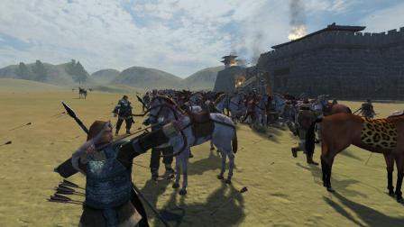 【骑砍:汉匈全面战争】实况07:第一次攻城战,先打垮辰韩!
