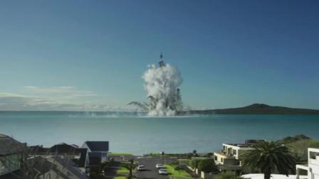 科学家用电脑模拟超级火山喷发, 浓烟瞬间吞噬整个城市
