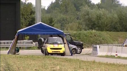 微型车碰撞测试: 比亚迪F0和奇瑞QQ, 表现差强人意