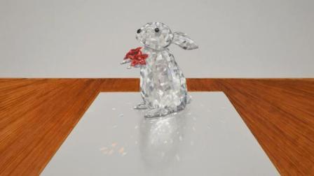 【绘笔万象】如何画一只水晶兔子
