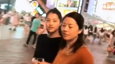 长沙街头搭讪美女母女俩, 撩妹撩出新高度