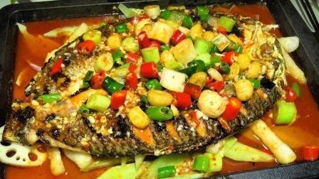一个窍门教你在家做烤鱼, 不用煎不用炸, 平底锅照样做出美味烤鱼!