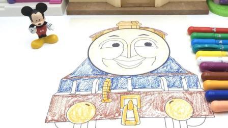 米奇画托马斯和他的朋友们涂色画玩具 25