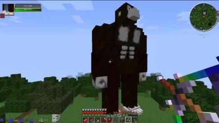 我的世界: 这猩猩是孙悟空转世吗说秒就秒我不带商量的
