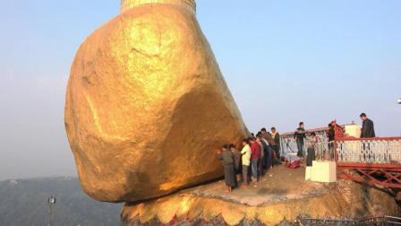 缅甸悬崖大金石, 2500年不倒之谜, 没有一个女孩敢碰!