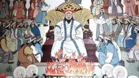 成吉思汗死于征西夏 死后抬着棺椁一路往回走 遇见一人杀一人