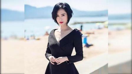 46岁朱茵换个发型至少减龄十岁, 紫霞仙子又美回来了!