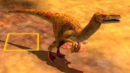 【肉肉】野生动物园游戏#04好多好玩的恐龙!
