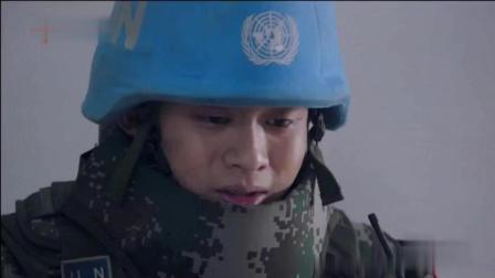 维和步兵营最感动一幕, 中国士兵牺牲感动落泪