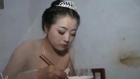 实拍陕西宝鸡农村结婚视频: 新娘好美!