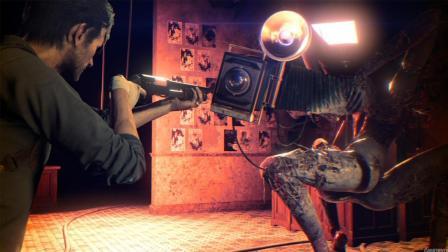 【Q桑】《恶灵附身2》梦魇最高难度无伤攻略剧解说 第04集