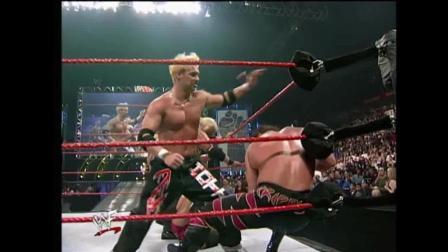 hhh回归 WWE巅峰凯恩一打七吓得HHH瑟瑟发抖 红巨魔最霸气的回归