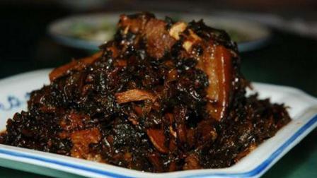 梅干菜爆炒五花肉, 很香好吃下饭的一道菜, 做法很简单!