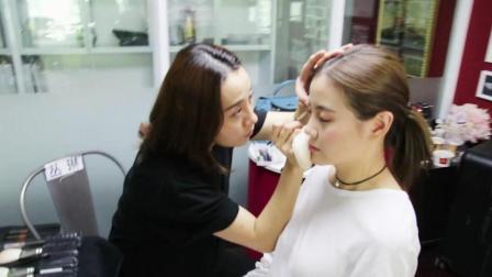看看最牛化妆师, 怎么让美女变刘亦菲