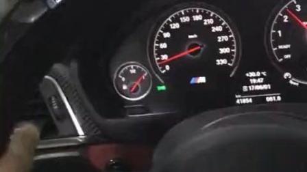 阿尔宾娜改的宝马M4, 停车的减速带又能奈我!