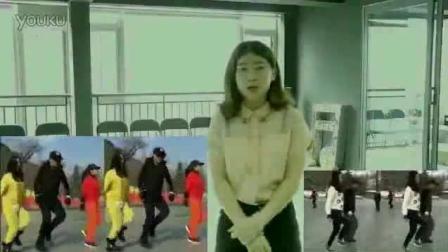 湖南省郴州市嘉禾县《迷茫的爱》小海曳步健身舞附分解 老年鬼步舞教学