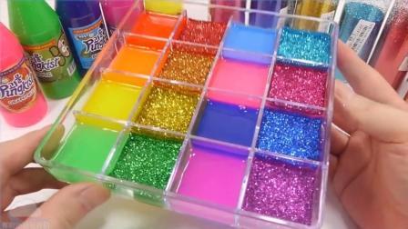 所有颜色组合 更多颜色灰泥闪光盒玩具牛奶冰淇淋做法1000度球VS水晶球【俊和他的玩具们