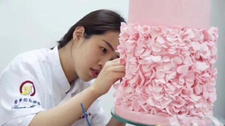 圆梦翻糖蛋糕培训班, 零基础学员几天成品展示