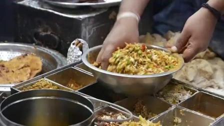 印度炸油饼, 为什么要在两个油锅分别炸, 难道一个油锅还炸不熟吗