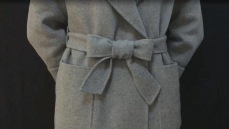 标准大衣腰带的3种系法, 很多人都不会, 专业人员手把手教你