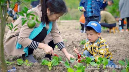 视频: 平湖5+2乐高儿童创意中心开心农场亲子活动   不素影像