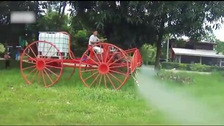 新型农业喷洒系统, 比传统的效率高10倍