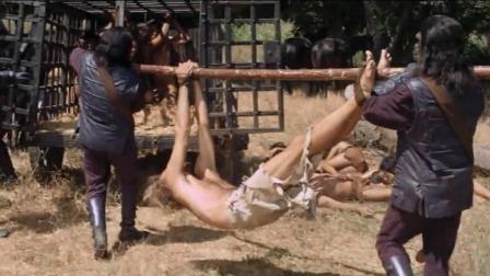 一部让开眼界的科幻片, 未来人类遭猩猩奴役和实验!