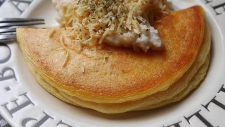 一枚鸡蛋的营养早餐, 法式舒芙蕾松饼