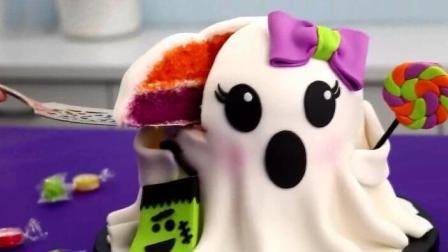 这么萌的蛋糕, 你怎么忍心切开吃, 做蛋糕视频