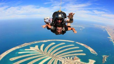 在迪拜,挑战极限