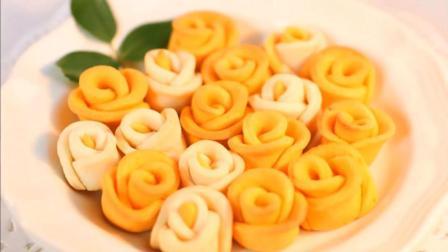 结婚纪念日, 做款玫瑰饼干, 既美味更浪漫! 做法和原料超简单!
