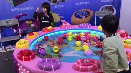 儿童钓鱼机-磁悬浮儿童钓鱼机