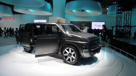 【SUV+MINIVAN】全新丰田Toyota TJ Cruiser concept概念车现场介绍